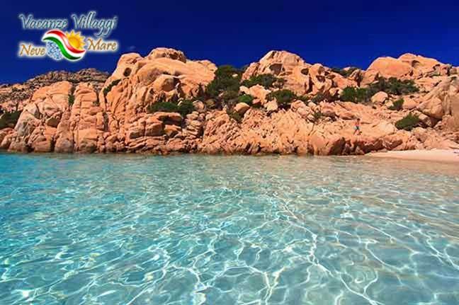 Il mare della Sardegna, Arcipelago della Maddalena.
