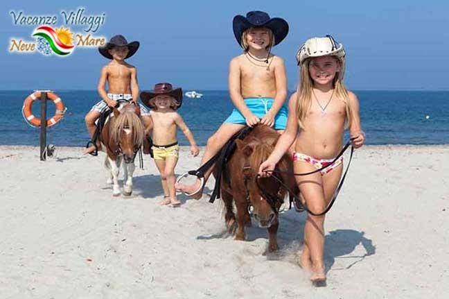 Escursioni a cavallo all Horse Country Resort e Spa