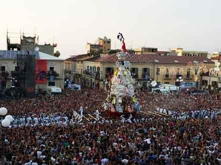 La Varia di Palmi, festa popolare spettacolare, patrimonio Unesco.