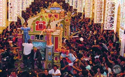 Matera in festa con le celebrazioni della Madonna della Bruna